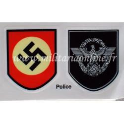 WW2 - Decal Polizei - Paire