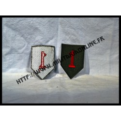 US - Patch 1st infantry I(à l'unité)