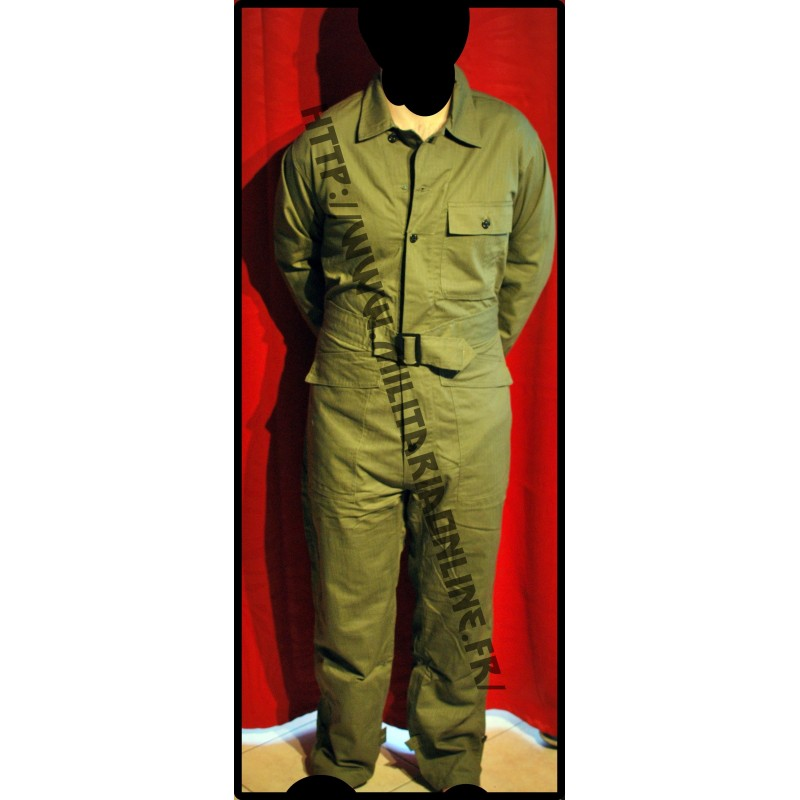 sur commande WW2 MILITARIA JEEP COMBINAISON HBT US TAILLE L
