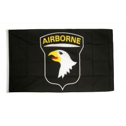 WW2 - Drapeau 101st Airborn noir