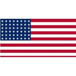 WW2 - Drapeau US 48 étoiles