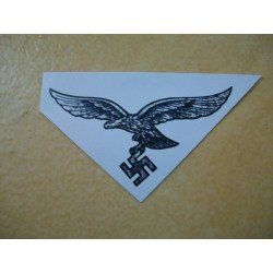 WW2 - Aigle de casque LW Modèle 1
