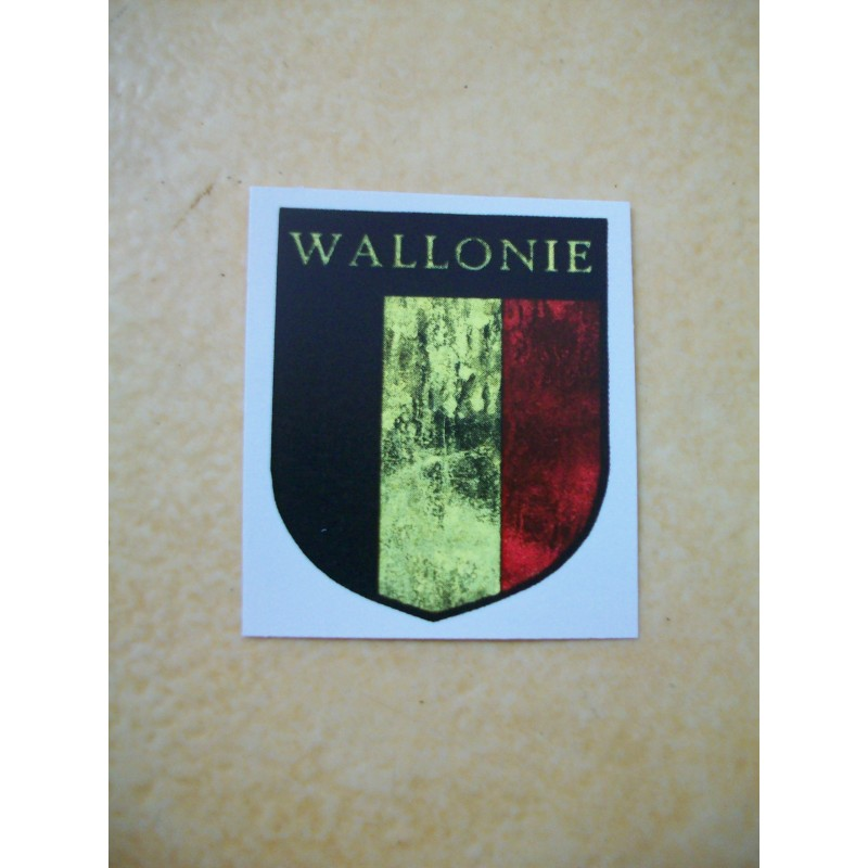 WW2 - Decal Wallonie