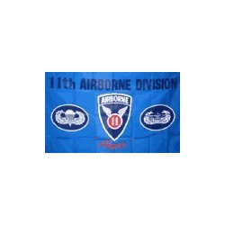 WW2 - Drapeau 11th airborn