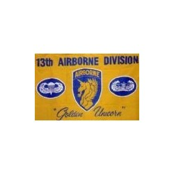 WW2 - Drapeau 13th airborn
