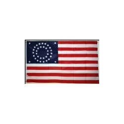 Drapeau US - 35 étoiles