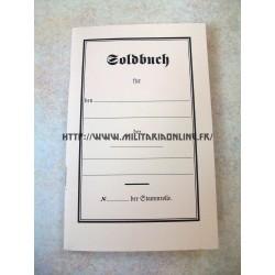 WW1 - Repro de Soldbuch