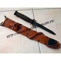 WW2 - Repro de couteau M3 et son fourreau