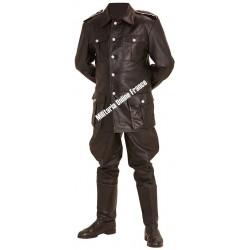 WW2 - Repro de pantalon M32 en cuir