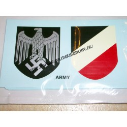WW2 - Decal WH - Paire