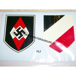 WW2 - Decal HJ - Paire