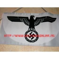 WW2 - Repro BEVO d'insigne WH pour débardeur