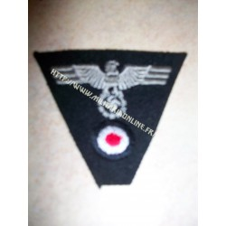 WW2 - Insigne de casquette trapézoidable PZ WH