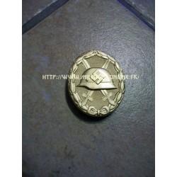 GER - Copie de badge des Blessés Or