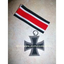 GER - Repro de Eisernes Kreuz 2nd class EK2 - croix de fer vieillie - Haute qualité