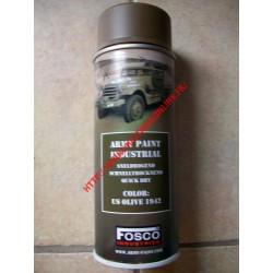 WW2 - Bombe de peinture FOSCO - US Olive