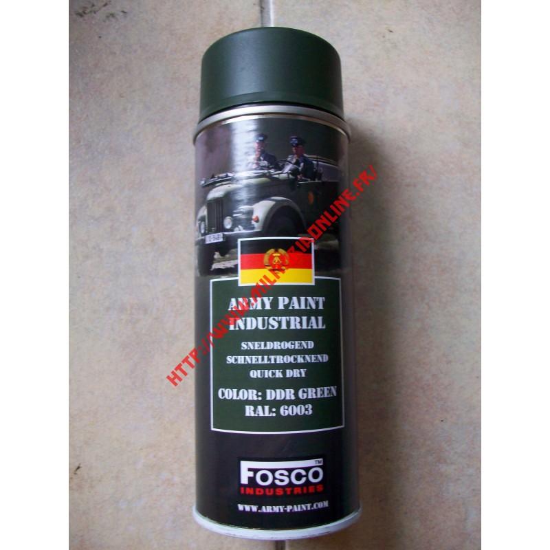 WW2 - Bombe de peinture FOSCO - DDR Green RAL6003