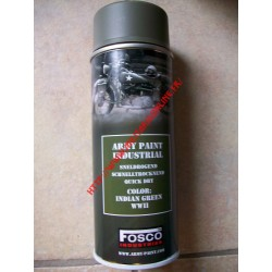 WW2 - Bombe de peinture FOSCO - Indian Green
