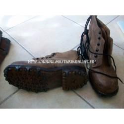 Chaussures - Brodequins de combat Suisse post ww2