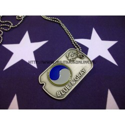 DogTAg US Blue & Gray - 29th div infanterie