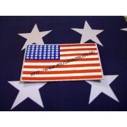 WW2 - Drapeau US 48 étoile tissé 9cm*5.5cm environ