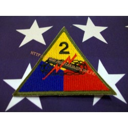 WW2 - Patch US - 2ND Armored repro