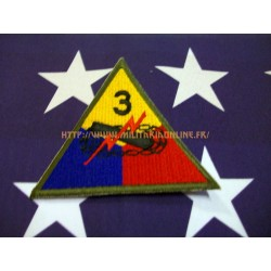 WW2 - Patch US - 3RD Armored repro