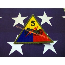 WW2 - Patch US - 5TH Armored repro