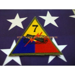 WW2 - Patch US - 7TH Armored repro
