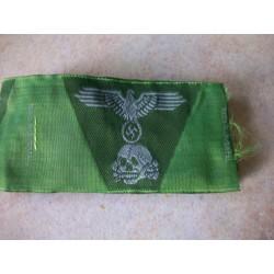 WW2 - Insigne de casquette trapézoidable WX