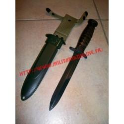 WW2 - Repro de couteau M3 et son fourreau M8