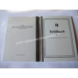WW2 - Repro de Soldbuch WX