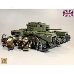 Char Churchill MK IV avec 5...